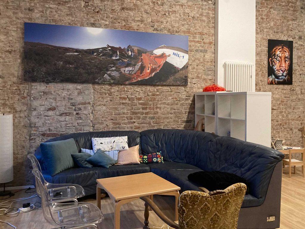 Das Bild zeigt einen Ausschnitts des Café FRIDA